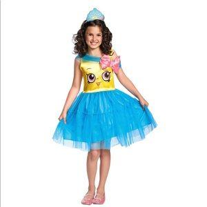Shopkins girls Halloween Costume Cupcake Queen M